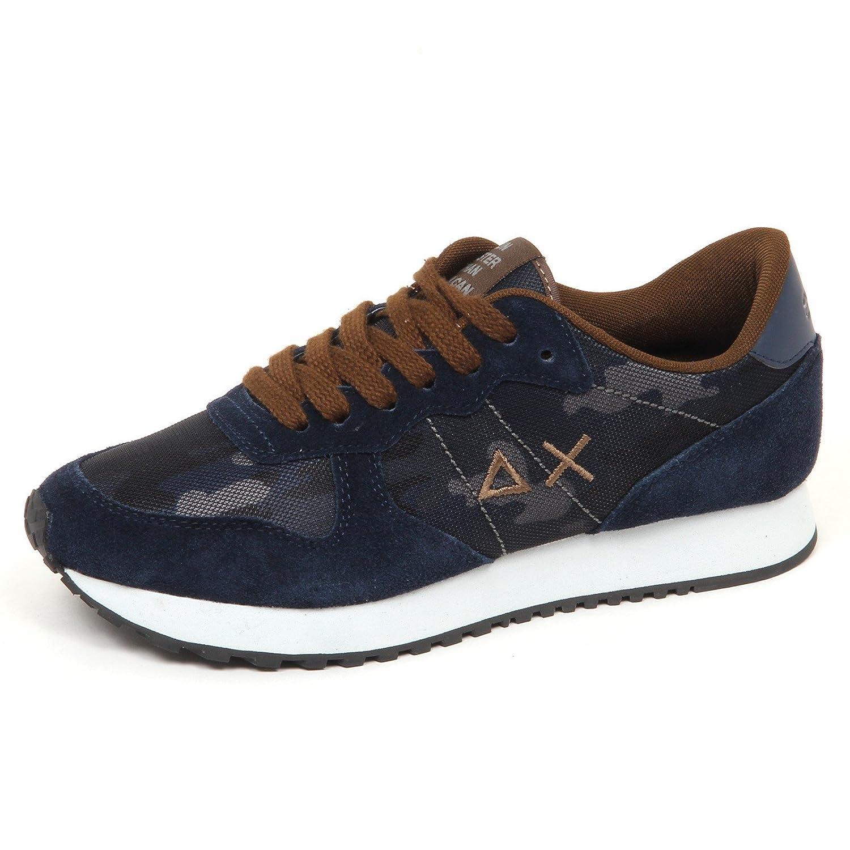SUN 68 E0598 Sneaker Uomo Blu/Brown Scarpa Shoe Man 40 EU blu/marrone