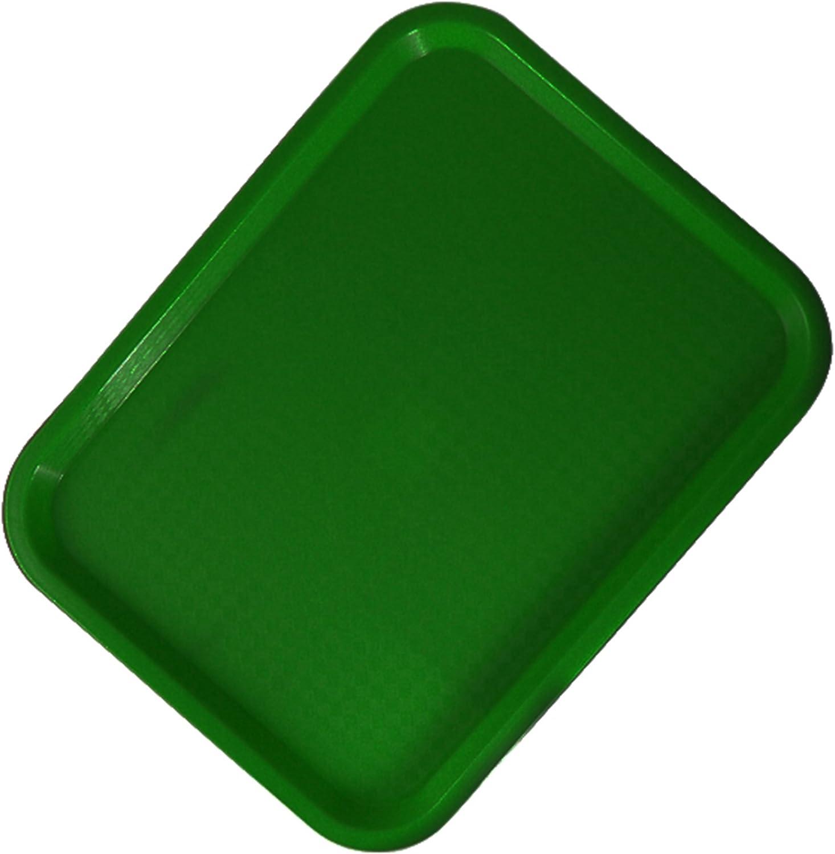 Zodiac 36x 46cm Bandeja de Comida Rápida, Color Verde