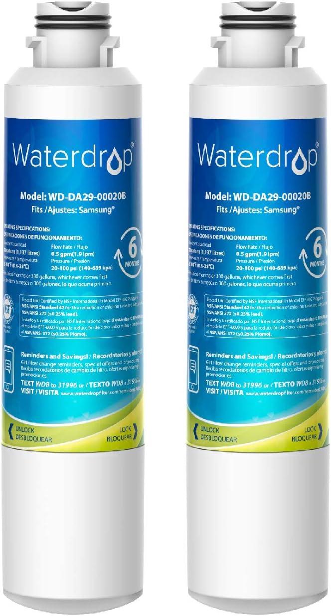 Waterdrop Advanced Refrigerator Water Filter WDS-DA2900020B
