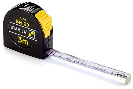 Stabila Measuring Tools 16445 Bm 20 Pocket Tape Measure 3 M Amazon