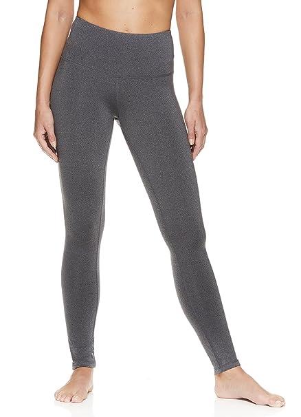 cc5177cba5 Amazon.com  Reebok Women s High Rise Leggings Performance Compression Pants   Sports   Outdoors