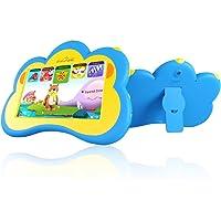B.B. pata tablet de niños Inglés y Español bilingüe languae con 100+ precargados aplicaciones gratuitas, 7inch máquina de aprendizaje para tren Kid 's habilidades y desarrollar talents-blue