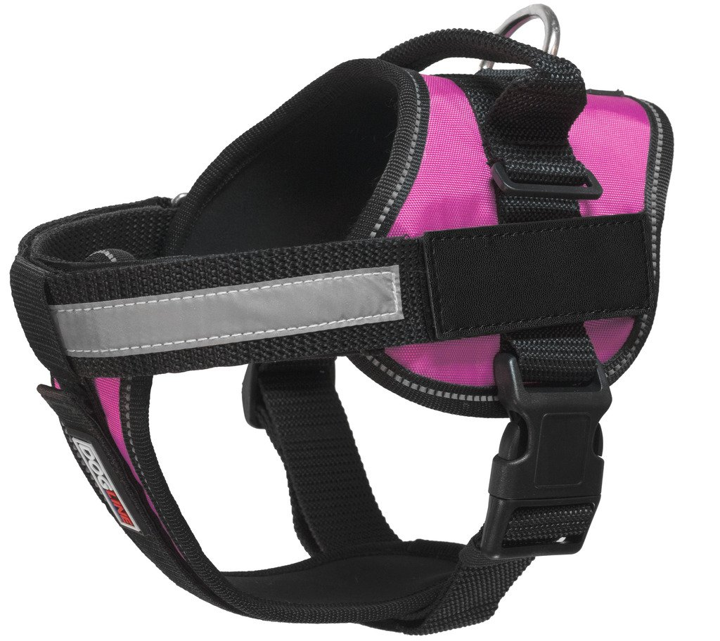 Dogline Unimax Multi-Purpose Vest Harness for Dogs and 2 Removable DIY Customizable BLANK Patches by Dogline