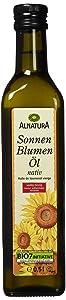 Hochwertiges Bio-Sonnenblumenöl