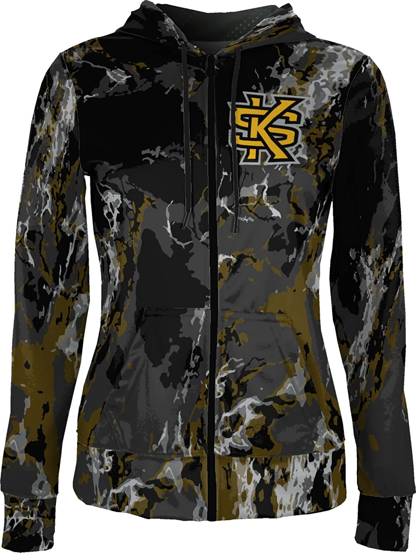 School Spirit Sweatshirt ProSphere Kennesaw State University Girls Zipper Hoodie Marble
