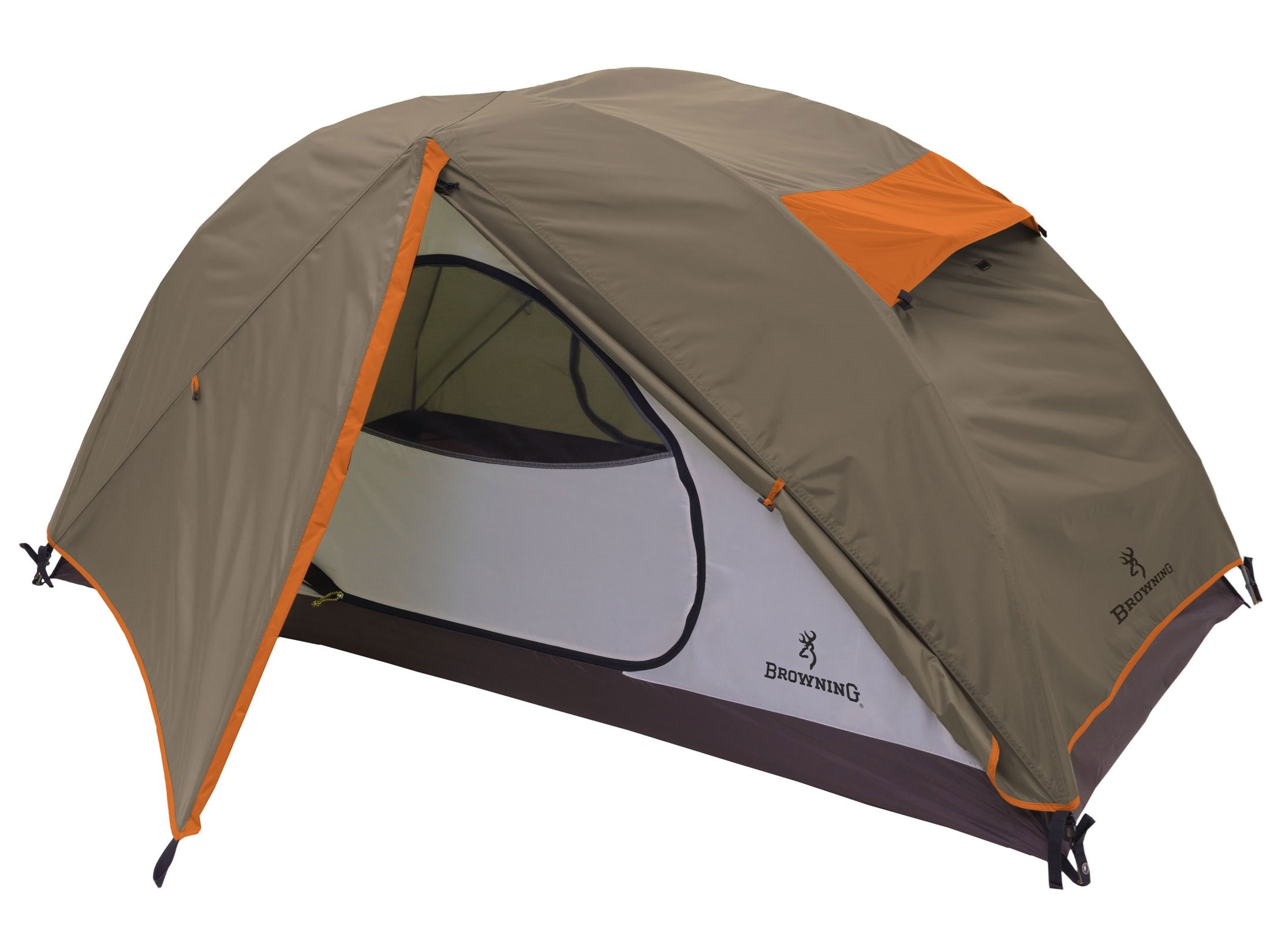 Browning Granite Creek Dome Tent Polyester Dark Clay/Rust