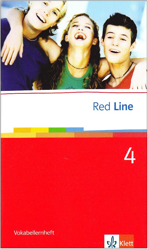 Red Line 4: Vokabellernheft Klasse 8 (Red Line. Ausgabe ab 2006)