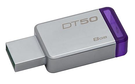 Kingston DataTraveler 50 - Llave USB, Color Purpura: Amazon.es ...