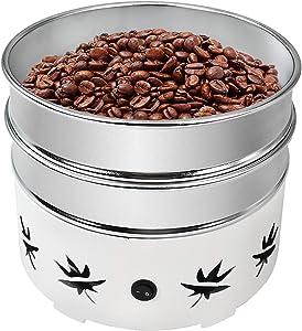 Ymjoinmx Home Coffee Bean Cooler 1.1lb Electric Coffee Bean Cooling Machine 2 Layers (110V US Plug)