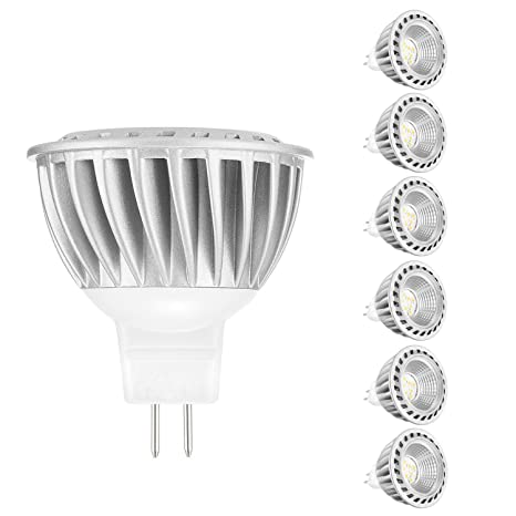 ARVIDSSON MR16 Bombilla LED, 12 V, 6 W, GU5.3, reflector