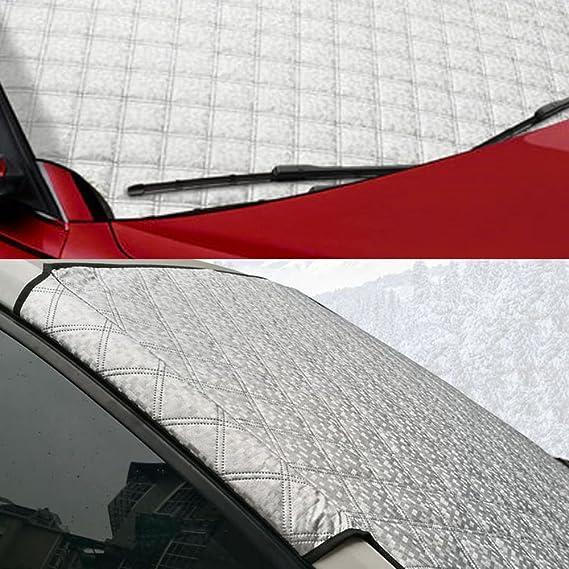 Amazon.es: Protector de parabrisas Hxlong, protege parabrisas y limpiaparabrisas del viento, la nieve, el hielo, ideal para cualquier clima, 146 x 92 cm.