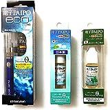 マルマン 電子PAIPO eco 本体ブルー+フレーバーリキッド10ml 2種セット(アイスミント・メンソール)