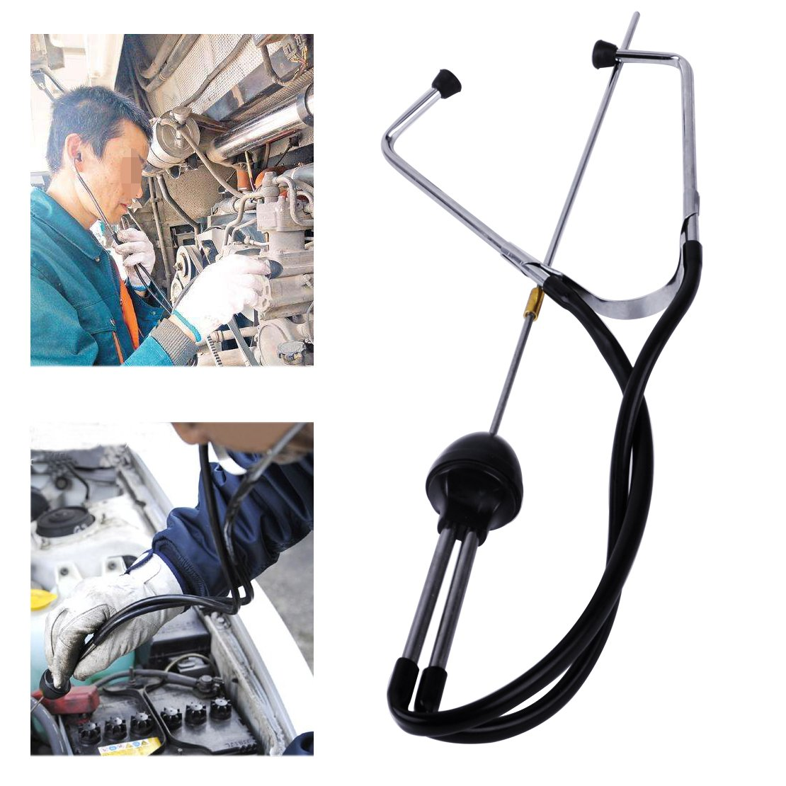 CITALL Car Engine Block Diagnostic Automotive Hearing Tool Auto Mechanics Stethoscope