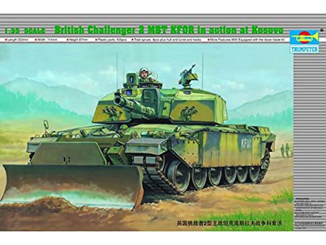 bae2a633664a Image Unavailable. Image not available for. Color  Trumpeter 00345 1 35 British  Challenger 2 MBT ...