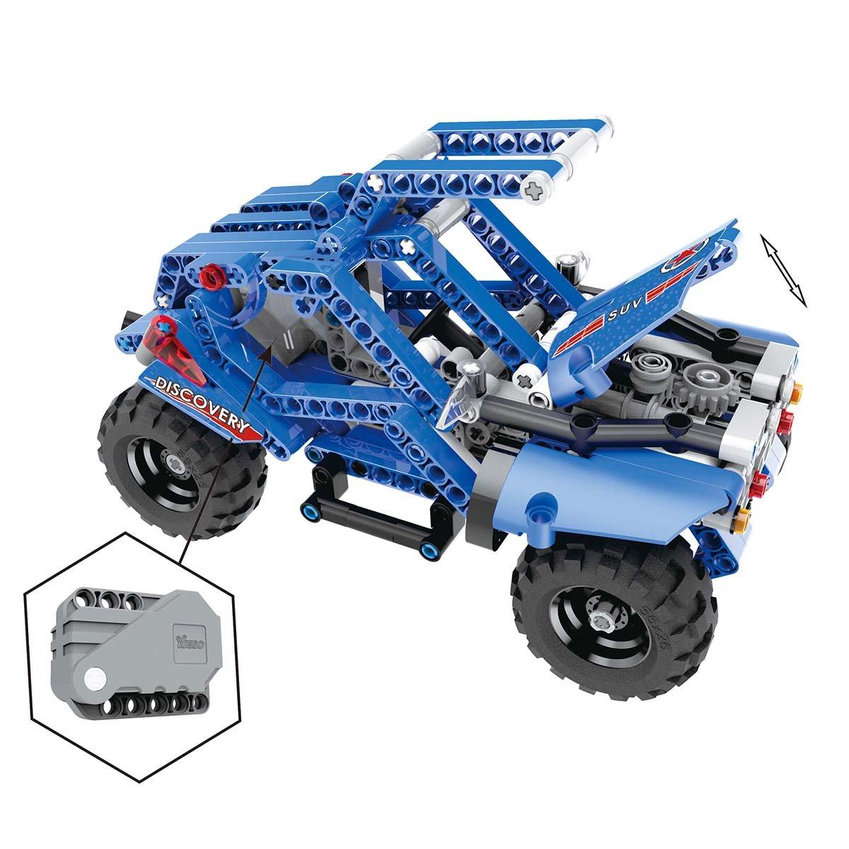 building blocks cross country vehicle biozea 1 set of childrens