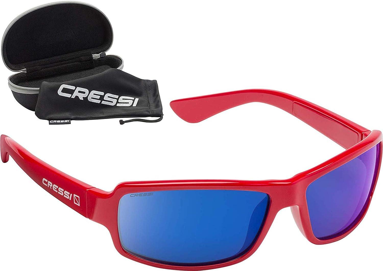 Cressi Ninja Occhiali Sportivi da Sole Polarizzati con Protezione UV 100/%