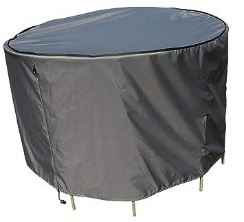 SORARA Housse de Protection Table Ronde | Ø 153 x 90 cm (L/L x H ...