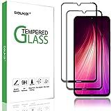 (2 Pack) Beukei for Xiaomi Redmi Note 8 Tempered Glass Screen Protector (6.3 inches),Full Screen Coverage, Anti Scratch, Bubb