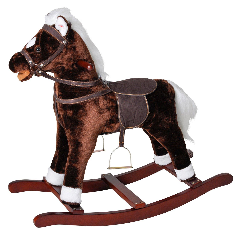 Knorr 40500 - Rocking Horse Brauny Knorrtoys.com knoortoys_40500