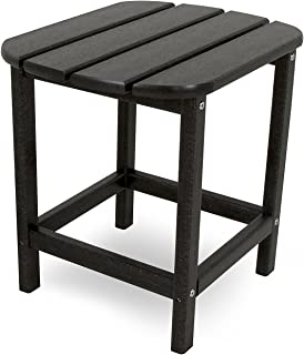 """product image for POLYWOOD SBT18BL South Beach 18"""" Outdoor Side Table, Black"""