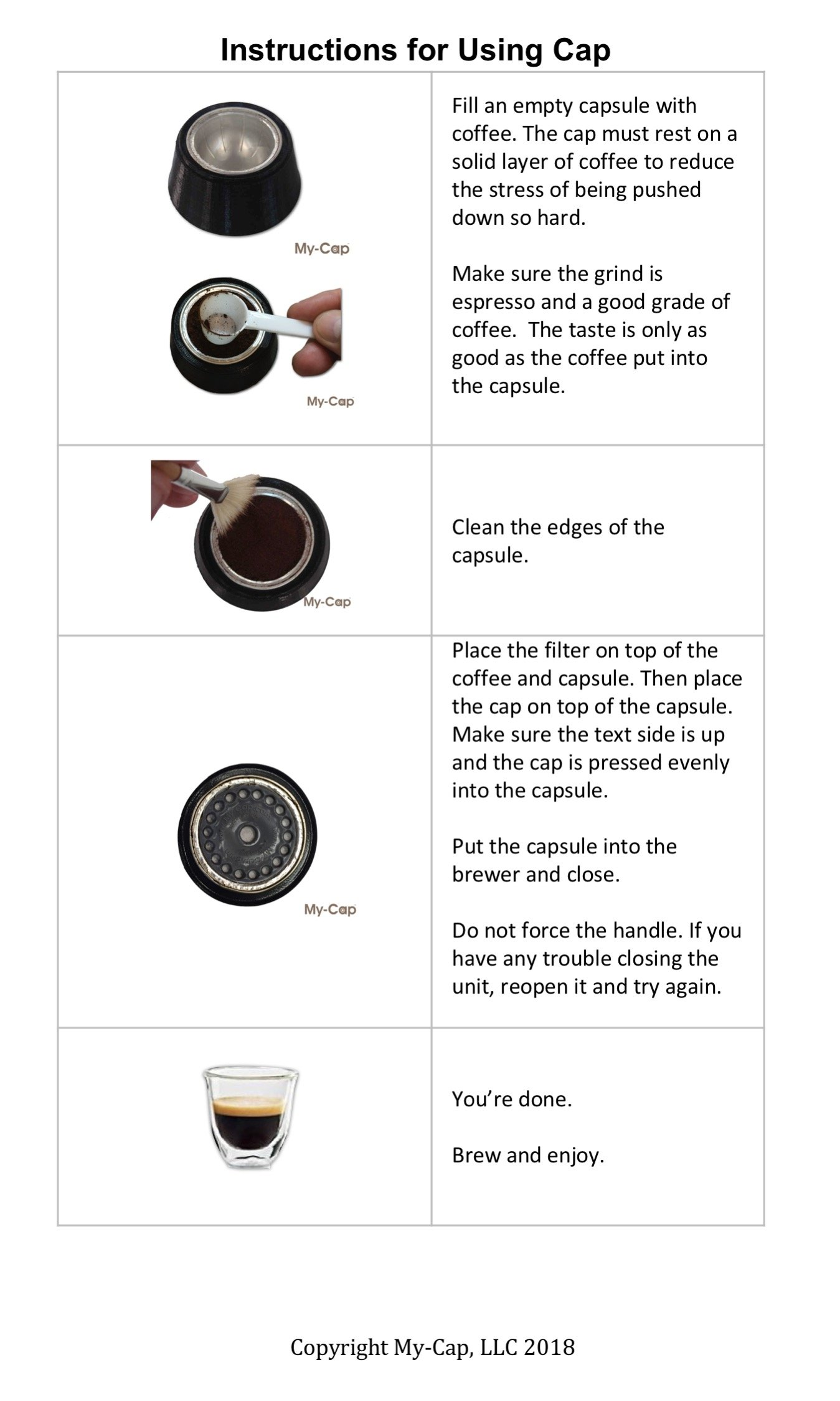 My-Cap vPACK - Complete Solution to Make Your Own Capsules and Pods for Nespresso VertuoLine Brewers by My-Cap (Image #3)