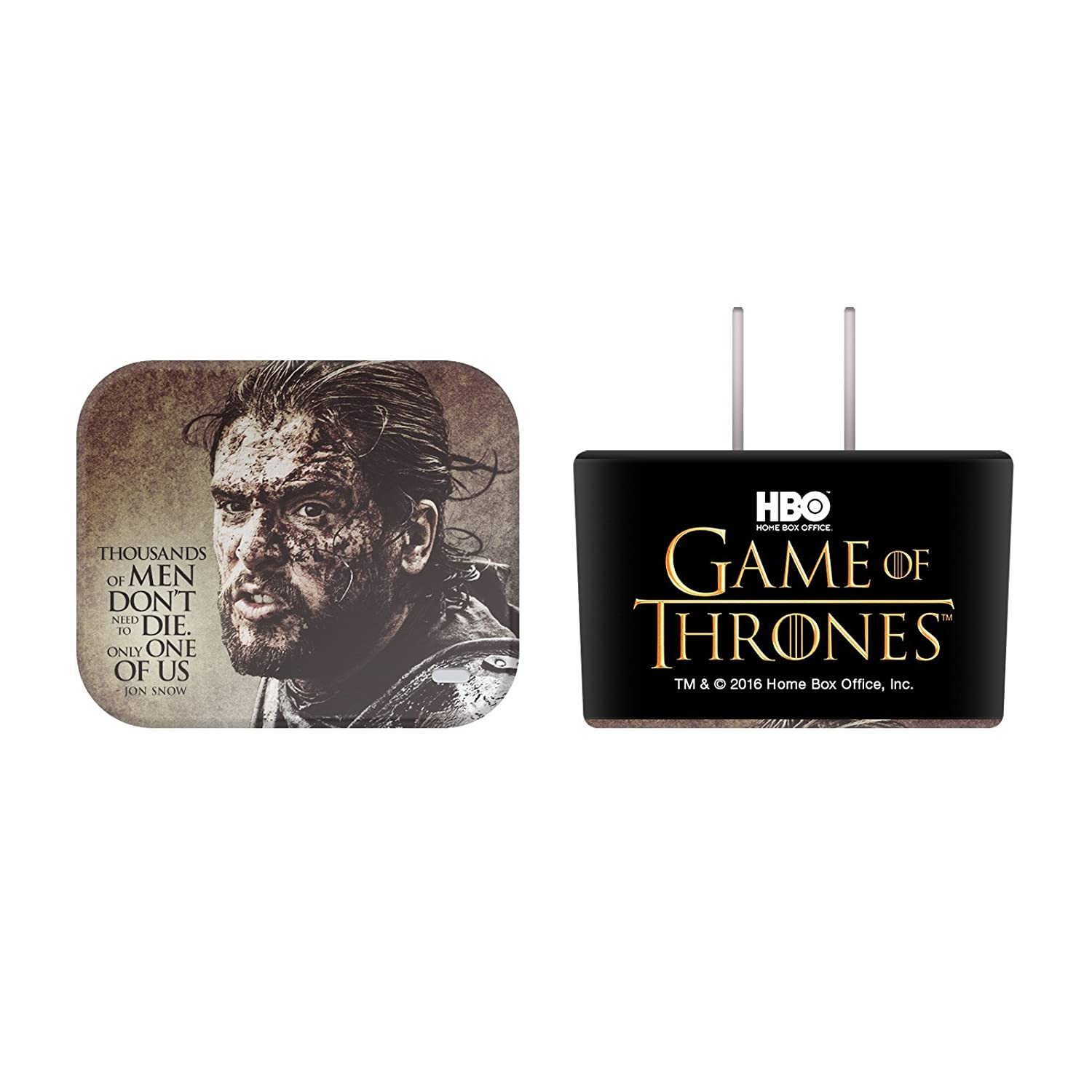 Amazon.com: Official HBO Game Of Thrones Character Quotes Jon Snow ...