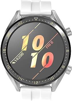 Correa para Huawei Watch GT 2/Huawei Watch GT Fashion/Sport/Active/Elegant/Classic,22mm Pulsera de Repuesto de Silicona Banda Ajustable