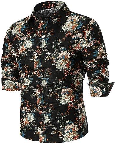 Rawdah_Camisetas De Hombre Manga Larga Camisas Hombre Manga Larga Polo Camisas De Hombre Manga Larga Camisetas Hombre Manga Larga Camisas De Hombre Talla Grande Camisas Hombre Verano Negras Camisetas: Amazon.es: Ropa y
