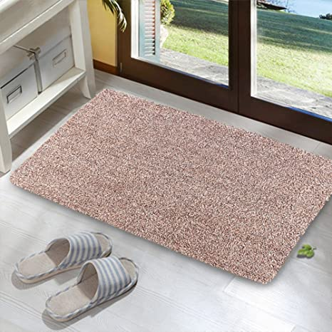 Kernorv Super Absorbs Mud Room Rug Non Slip Dirt Trapper Mat Low Profile Indoor  Doormat