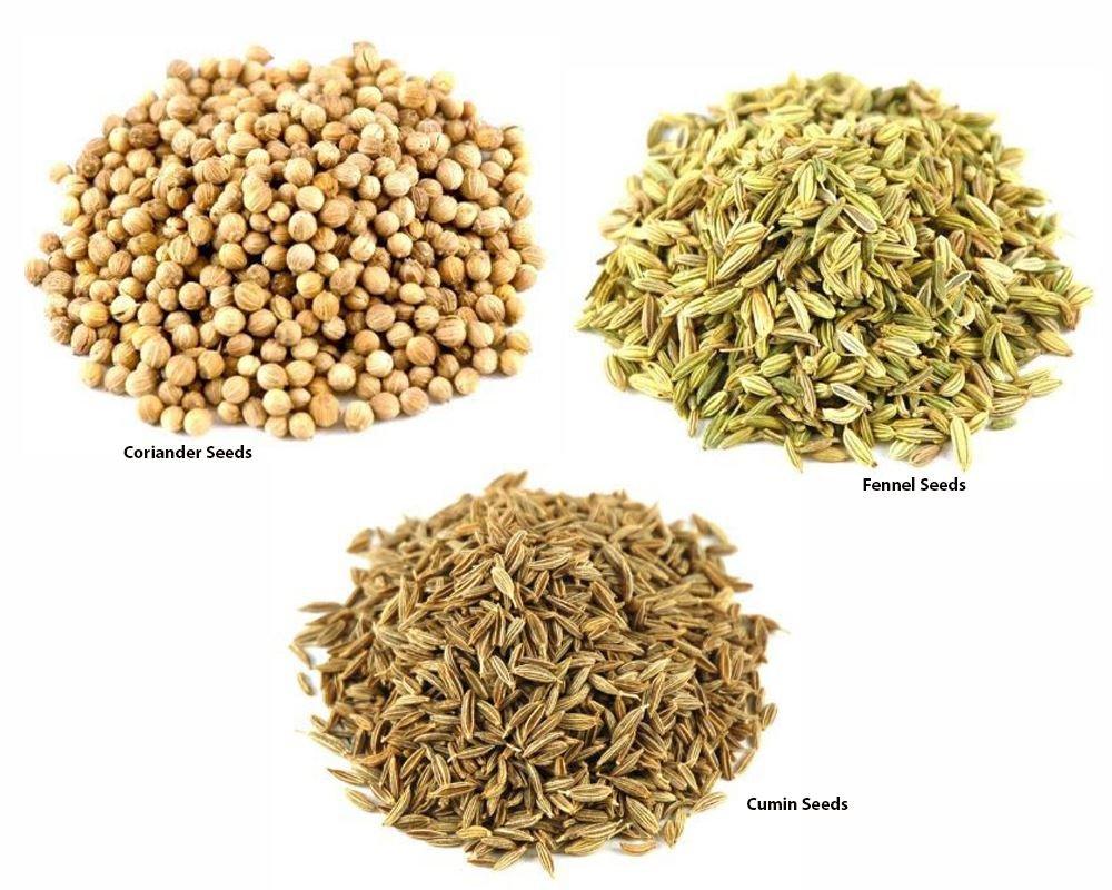 Jalpur Millers Spice Combo Pack - Coriander Seeds 500g - Cumin Seeds 500g - Fennel Seeds 500g (3 Pack) by Jalpur (Image #1)
