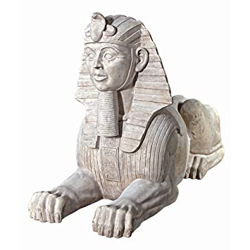 Design Toscano Grand Stone Egyptian Sphinx Statue