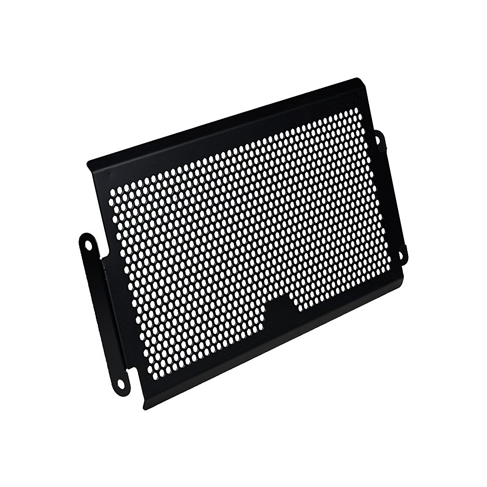 Matte Black Radiator Grille Guard Protective Cover Compatible with 2014-2017 Yamaha MT07 FZ07