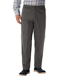 acea95dd Chums Mens Men's HIGH-Rise Teflon Coated Smart Trouser Pants Navy ...