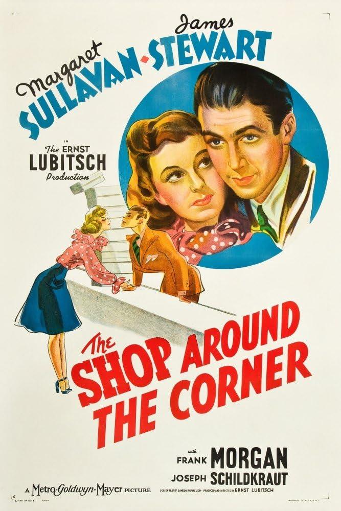Amazon.com: Posterazzi The Shop Around The Corner From Left: Margaret  Sullavan James Stewart 1940 Movie Masterprint Poster Print, (11 x 17):  Posters & Prints