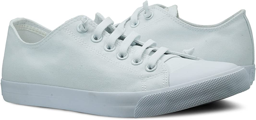 White Canvas Ox Low top Sneaker