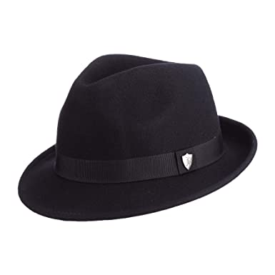 e0e630daa78e2 Dorfman Pacific Men s Wool Felt Hat at Amazon Men s Clothing store ...