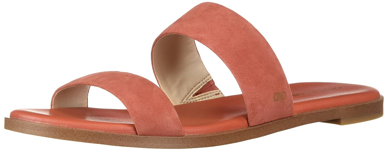Cole Haan Women's Findra II Flat Sandal B0743BTGZT 5.5 B(M) US|Cinnabar Suede