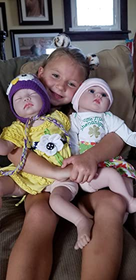 Kaydora Reborn Baby Doll Girl 22 Inch Lifelike Real Baby Doll Reborn, Named Lucy Excellent Product !