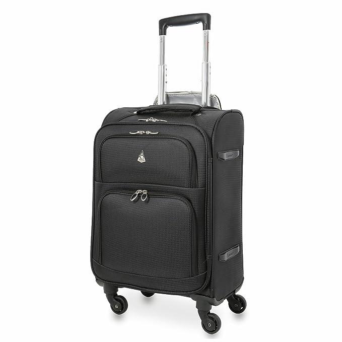 Aerolite Super ligero carrito de equipaje Maletas, 4 ruedas Spinner & 2 rueda vertical Carry