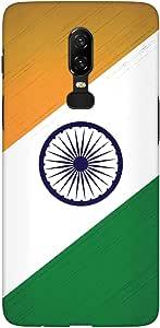 Stylizedd OnePlus 6 Slim Snap Basic Case Cover Matte Finish - Flag Of India