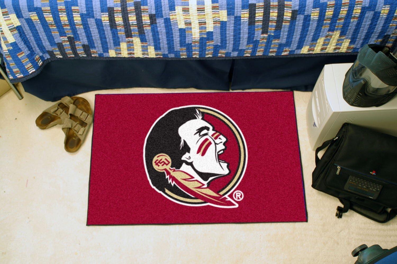 FANMATS NCAA Florida State University Seminoles Nylon Face Starter Rug