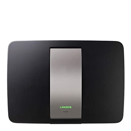 Linksys AC1750 Wi-Fi Wireless Dual-Band+ Router with Gigabit, Smart Wi-Fi  App Enabled to Control Your Network from Anywhere (EA6500)