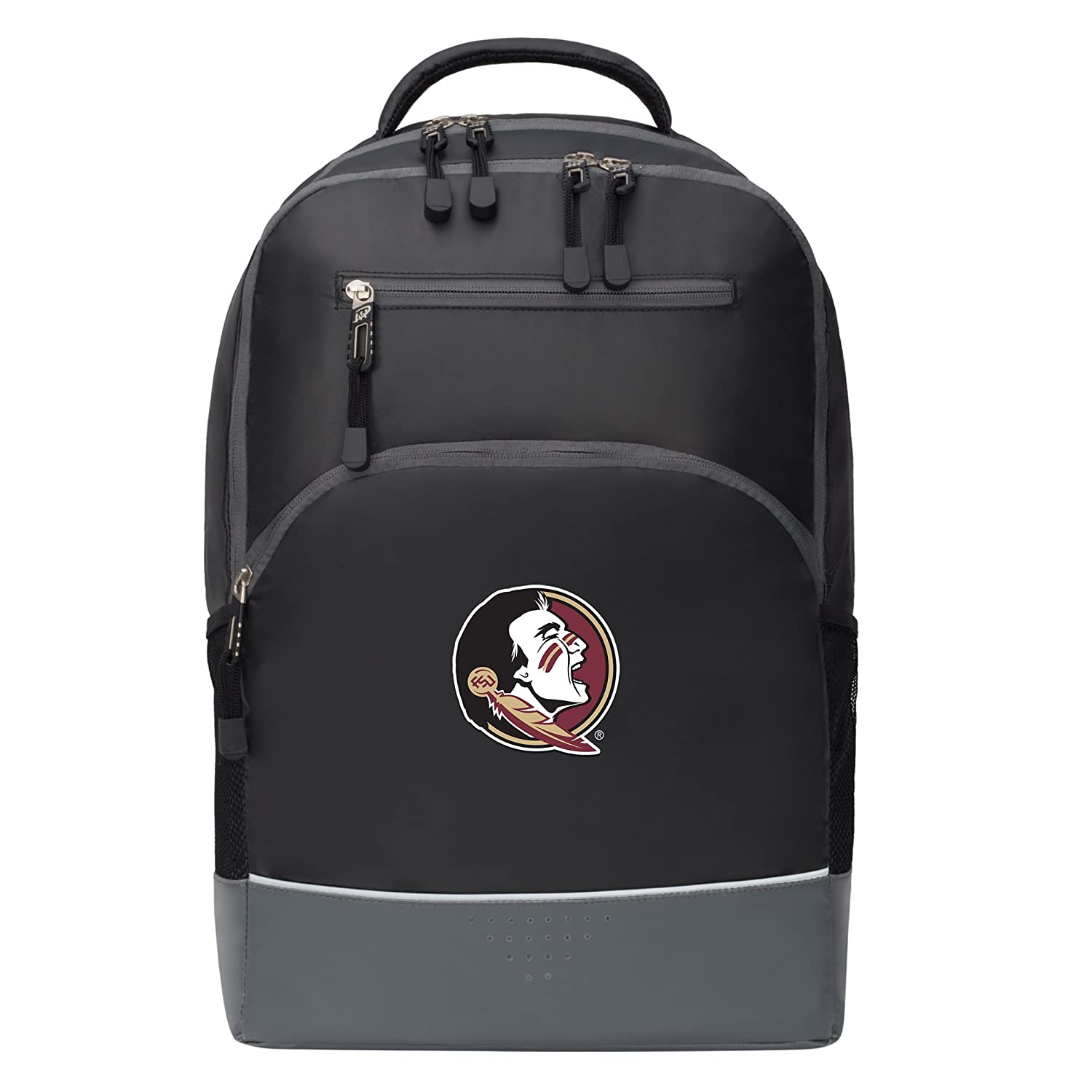 19 Officially Licensed NCAA Florida State Seminoles Alliance Backpack Black