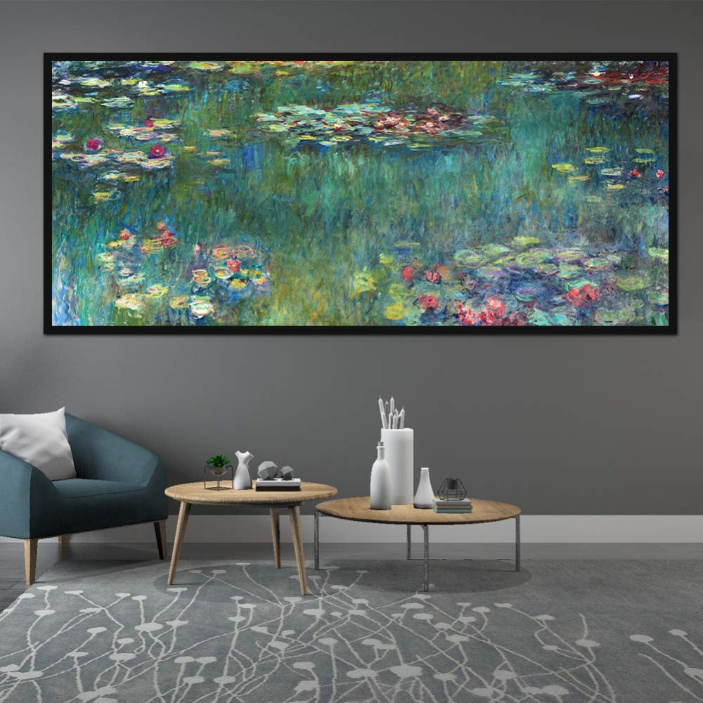5D Diamond Painting by Number Kits,Large Size,Full Drill,Yolaga DIY Rhinestone Embroidery Water Lily Mosaic Art Cross Stitch Craft for Home Wall Decor,Square Drill,90x180cm by Yolaga