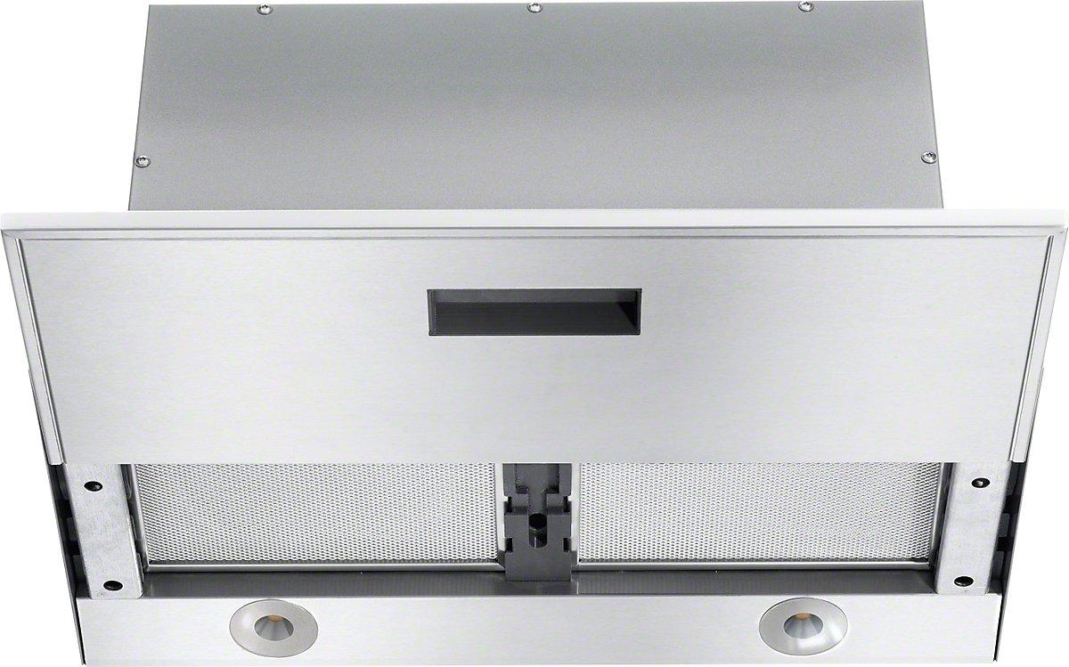 Miele DA3566 D 230 / 50 TLK Flachschirmhaube / 59, 2 cm / Filigranes Design - extrem flacher Wrasenschirm in 59 cm Breite / Einzigartiger Bedienkomfort - Con@ctivity 2.0 / edelstahl [Energieklasse A+]