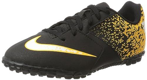 quality design 17582 d3cc9 Nike Bombax TF, Scarpe da Calcio Unisex-Bambini, Nero (Black White