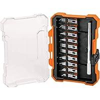 Truper EXA-11 Juego de exactos Hobby con estuche 11 piezas, color,, pack of/paquete de 1
