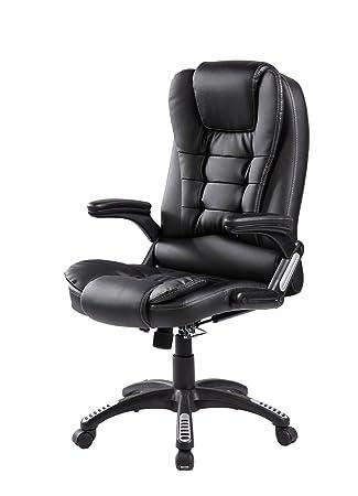 Amazoncom Merax Modern High Back Leather Executive Office