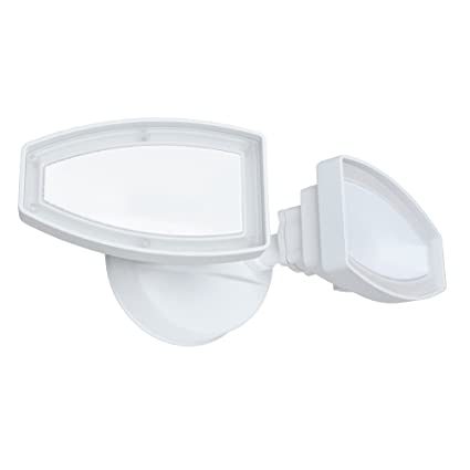 Good Earth Lighting Two Head Led Switch Controlled Security Flood Light