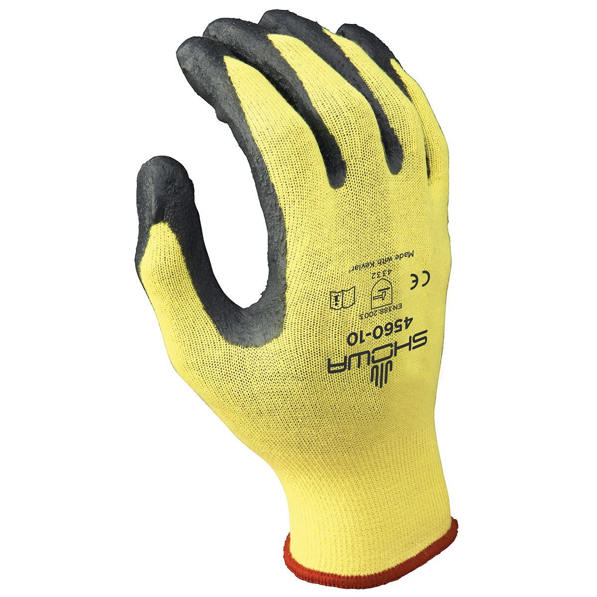 SHOWA 4560 Zorb-IT Nitrile Glove with Kevlar Liner, X-Large (Pack of 12 Pairs)